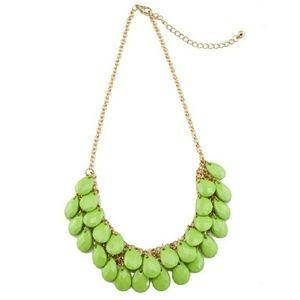 🆕️ Green Teardrops Necklace
